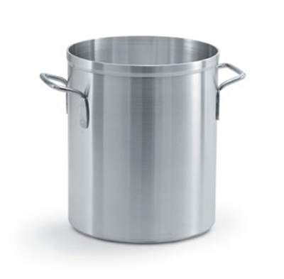 Vollrath 67580 80-qt Aluminum Stock Pot - Natural Finish
