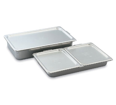 Vollrath 68010 Half-Size Cover-All - Flat, Solid, Aluminum