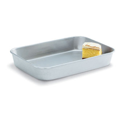 "Vollrath 68357 15-qt Baking/Roasting Pan - 25-3/5x17-3/4x3-9/16"" Aluminum"