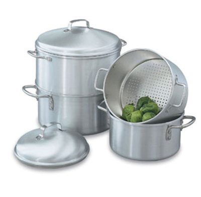 Vollrath 68122 3-qt Rice/Vegetable Steamer - 18-ga Stainless