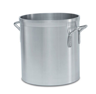 Vollrath 68624 25-qt Stock Pot - Heavy-Duty, Natural-Finish Aluminum