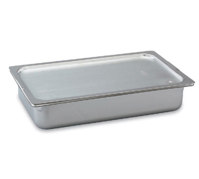 Vollrath 70009 Steam Table Pan Solid Cover - Cold Cover, Full-Size, Flat