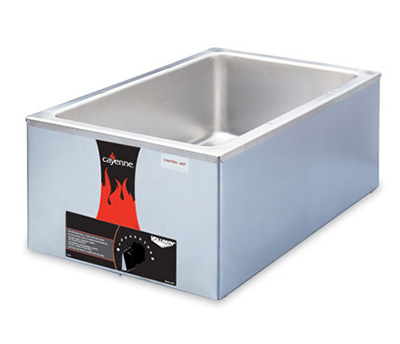 Vollrath 72000 Countertop Food Warmer- Full-Size, Thermostat, 120v