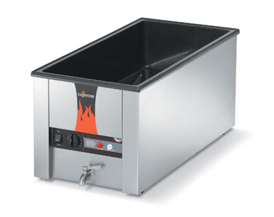 "Vollrath 72050 Countertop Warmer - Holds (4) 1/3 Size Pans, 28-3/4x13-3/4x9-3/4"" 120v"