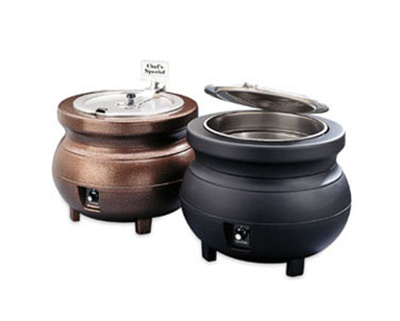 Vollrath 72176 11-qt Kettle Rethermalizer Package - Thermostat, Burnt Copper 120v