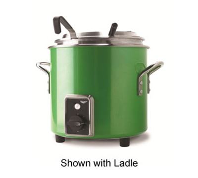 Vollrath 7217735 7-1/4-qt Kettle Rethermalizer - Thermostat, Green Apple 120v