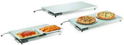 "Vollrath 7277048 48"" Cayenne Heated Shelf - Left-Aligned, Thermostat, Stainless/Aluminum 120v"