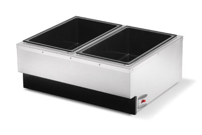 Vollrath 72789 Cayenne Dual Warmer - Stainless 120v