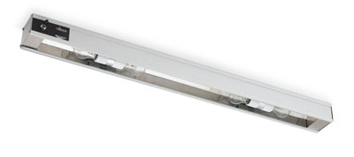 "Vollrath 7286200 30"" Cayenne Light Strip - Includes (2) 40W Standard Bulbs, 120v"