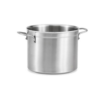 Vollrath 77521 12-qt 3-Ply Stock Pot - Stainless/Aluminum
