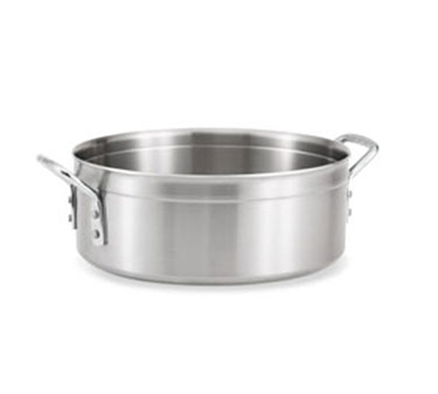 Vollrath 77761 15-qt Brazier - Chrome-Plated Handles, Stainless/Aluminum