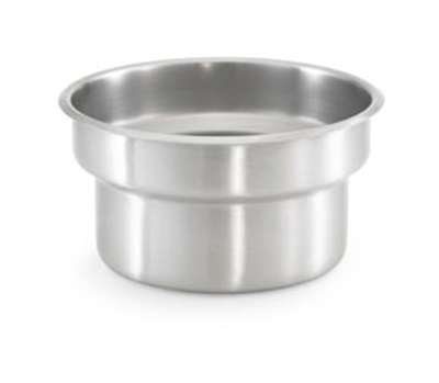 "Vollrath 78174 4-1/8-qt Vegetable Inset - Fits 8-1/2"" Opening, Stainless"