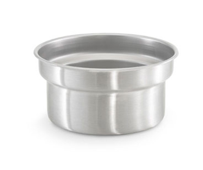 "Vollrath 78194 7-1/8-qt Vegetable Inset - Fits 10-1/2"" Opening, Stain"