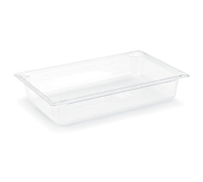 "Vollrath 8006410 Full-Size Food Pan - 6"" Deep, Low-Temp, Clear Poly"