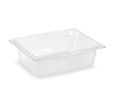 "Vollrath 8024410 Half-Size Food Pan - 4"" Deep, Low-Temp, Clear Poly"
