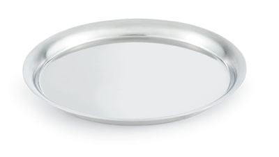 "Vollrath 82006 7-1/4"" Round Tray Cover - 18-ga Stainl"