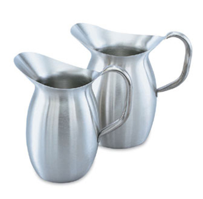 Vollrath 82020 2-1/8-qt Bell-Shaped Pitcher - Stainless