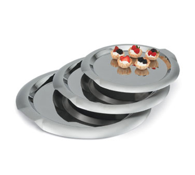 "Vollrath 82096 12"" Round Serving Tray - Stai"