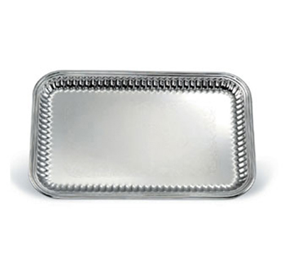 Vollrath 82167 Rectangular Fluted Serving Tray - 14-1/4x21&quo