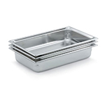 "Vollrath 90082 Steam Table Pan - Full Size, 8"" Deep, Stainless"
