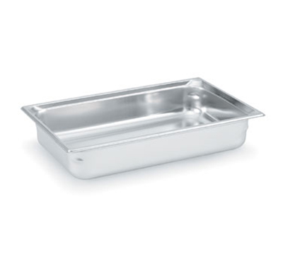 "Vollrath 90042 Steam Table Pan - Full Size, 4"" Deep, Stainless"
