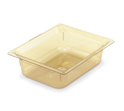 "Vollrath 9026410 Half-Size Hot Food Pan - 6"" Deep, Amber"