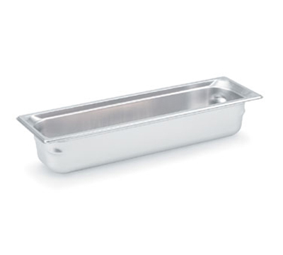 "Vollrath 90542 Steam Table Pan - Half Size Long, 4"" Deep, Stainless"