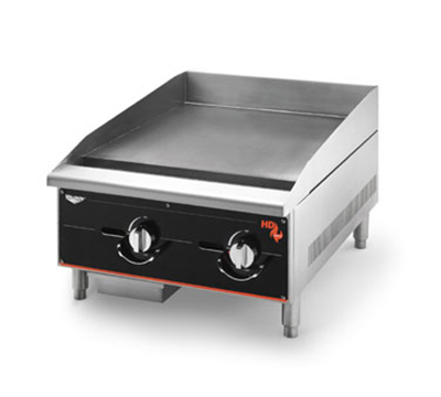 "Vollrath 924GGM 24"" Heavy-Duty Griddle - Manual Control, 60,000"