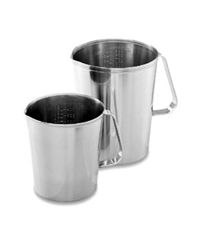 Vollrath 95640 64-oz Measuring Cup - 18-ga Stainless