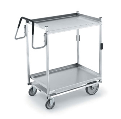 Vollrath 97207 2-Shelf Utility Cart - 900-lb Capacity, Stainless