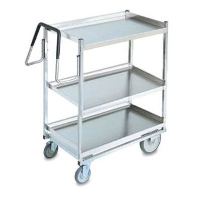 Vollrath 97208 3-Shelf Utility Cart - 900-lb Capacity, Stainless