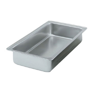 Vollrath 99780 Full-Size Dripless Water/Spillage Pan - Stainless