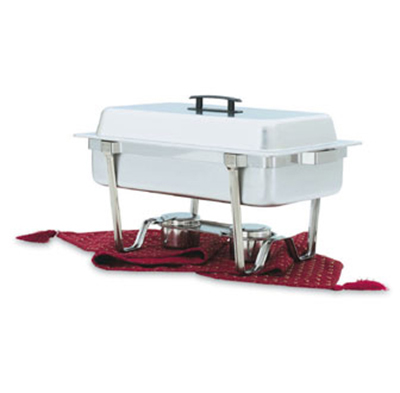 Vollrath 99850 Full-Size 9-qt Chafer - Dome Cover, Dripless Water Pan,