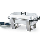 Vollrath 99860 Full-Size 9-qt Rectangular Chafer - Dome Cover, 2-1/2