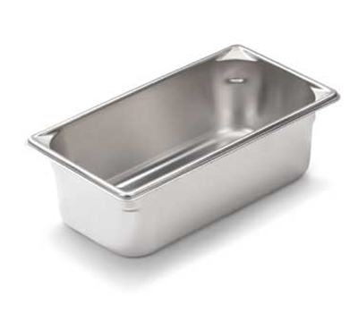 Vollrath 30422 Fourth-Size Steam Pan, Stainless