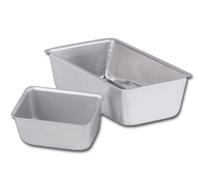"Vollrath 51008 Loaf Pan - 9-1/4x5-1/4x2-3/4"" Alumin"