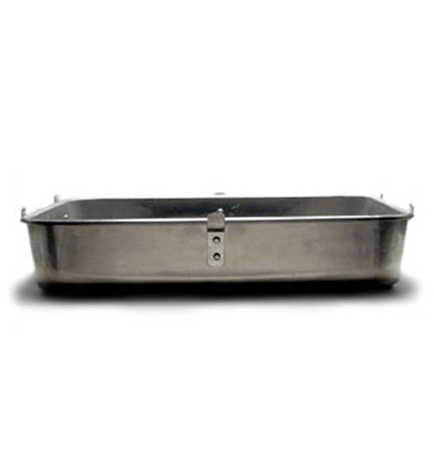 "Vollrath 448212 Aluminum Roaster Bottom - 16x20x4-1/2"" Loop Handles"