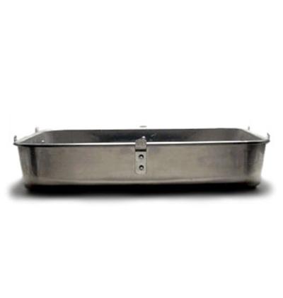 "Vollrath 448212 Aluminum Roaster Bottom - 16x20x4-1/2"" Loop Handles"