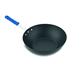 "Vollrath H4015 11-1/2"" Wok - HardCoat Anodized, Cool Handle, Aluminum"
