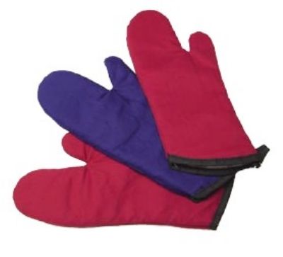Intedge 338-15 R 15-in Oven Mitt, Red