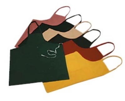 Intedge 339 N Bib Apron, 32 x 28-in, Nav