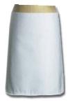 Intedge 341 BLK 4-Way Waist Apron w/ 2-Pockets & Nylon Ties, 38 x 34-in, Black