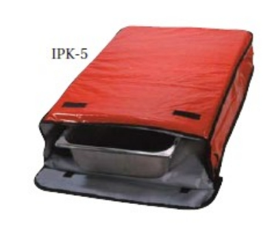 Intedge IPK-5 R Insulated Sheet Pan Carrier, 18 x 26 x 5-in, Red