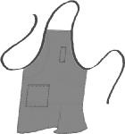 Intedge V105 Vinyl Dishwasher Bib Apron