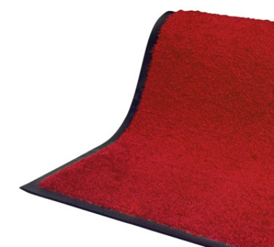 Andersen Mats 105-3-10 101 Tri-Grip Indoor Entrance Mat, 3 x 10-ft, Red/Black