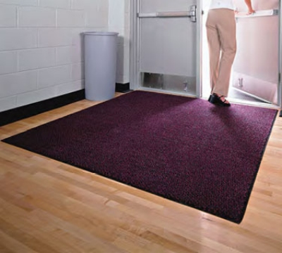 Andersen Mats 109-3-5 283 Colorstar Crunch Indoor Entrance Mat, 3 x 5-ft, Garnet