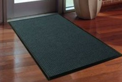 Andersen Mats 200-4-10 157 Waterhog Classic Entrance Mat, 4 x 10-ft, Medium Grey
