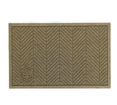 Andersen Mats 2241-3-4 176 Waterhog Eco Elite Fashion Entrance Mat, 3 x 4-ft, Khaki