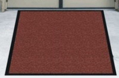 Andersen Mats 395-4-10 304 Brush Hog Indoor/Outdoor Entrance Mat, 4 x 10-ft, Burgundy Brush