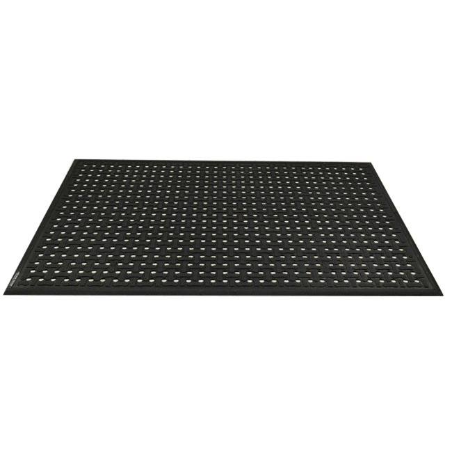 Andersen Mats 420-3-5 Comfort Flow Anti-Fatigue Mat w/ Drainage Holes, 3 x 5-ft,